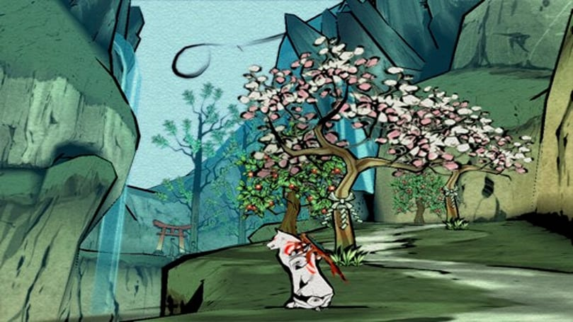 Okami HD developed by Capcom and Hexa Drive