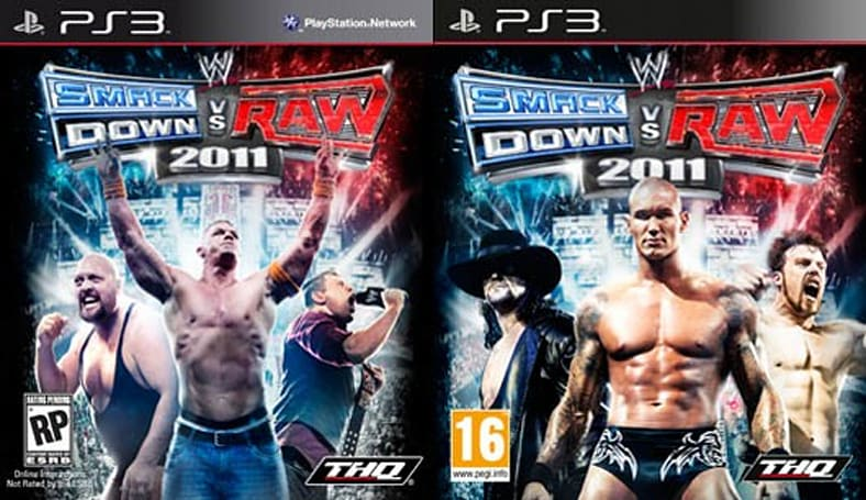 WWE Smackdown vs. Raw 2011 gets multiple covers