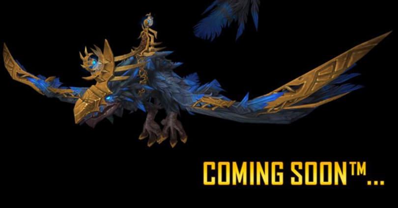 New mount sneak peek on Warcraft Twitter