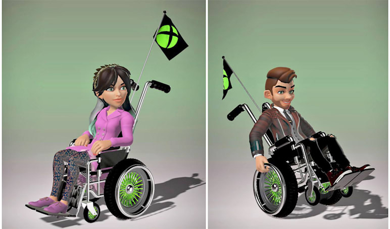 Xbox avatars to get a wheelchair option