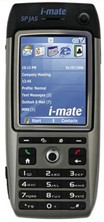 """i-mate gets HTC Breeze as """"SP JAS"""""""