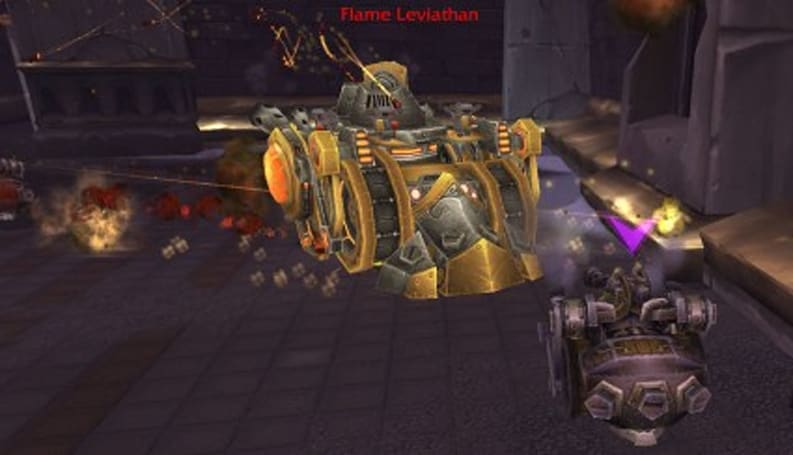 Ulduar on the Patch 3.1 PTR: The Flame Leviathan