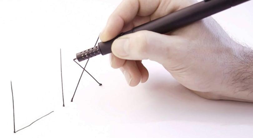 Lix reveals a portable, pro-grade 3D printing pen