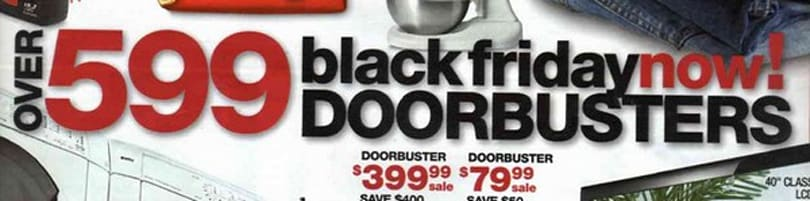 Sears Black Friday ad revealed, we'll be sleeping off our tryptophan hangovers