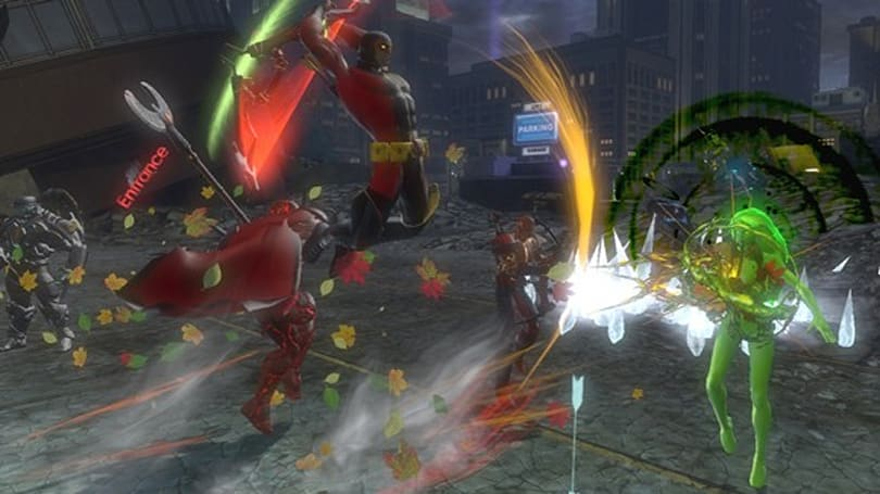 Aliens, strongmen, clowns, and doom featured in new shots from DCUO