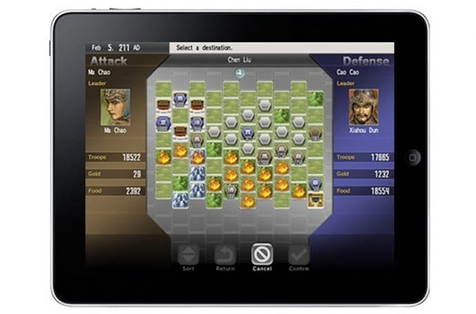 Tecmo Koei's first iPad game is a pricey 'Romance'