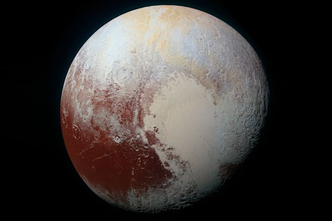 The Big Picture: A colorful and dazzling view of Pluto