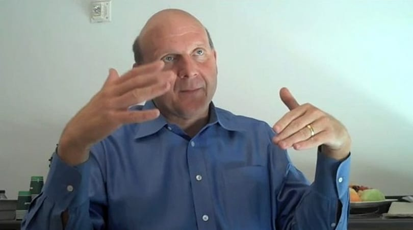 Steve Ballmer talks 'three screens and a cloud' and more with TechCrunch
