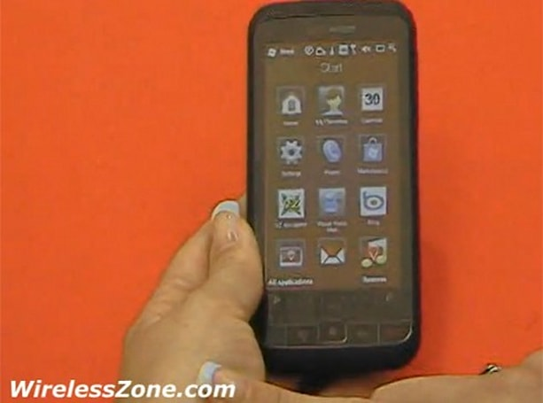 Verizon's HTC Imagio toyed with on video, sized up against BlackBerry Storm