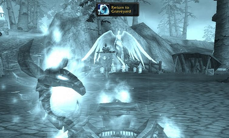 """""""Return to Graveyard"""" button appears in latest Cataclysm beta build"""