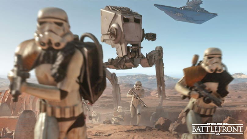 Fight offline with friends in new 'Star Wars Battlefront' mode
