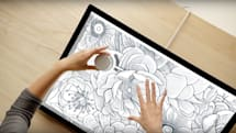 Surface Dial is a physical scroll wheel for your digital art