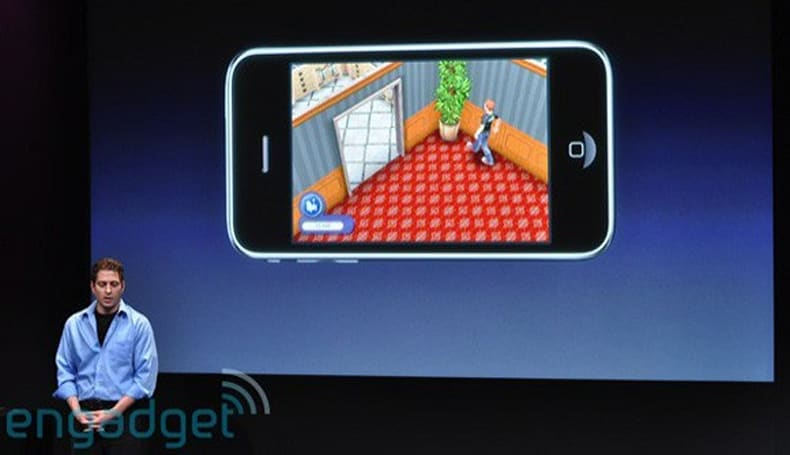 Sims iPhone shows off in-game purchasing, personalized music