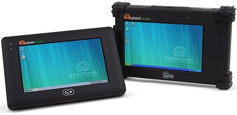 TabletKiosk rises from the ashes, pops Atom CPUs into hideous new UMPC / tablet line