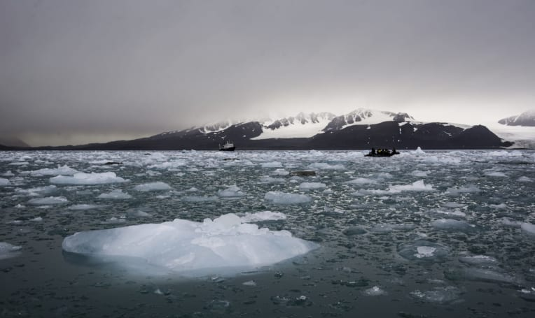 We've never seen global sea ice levels this low before