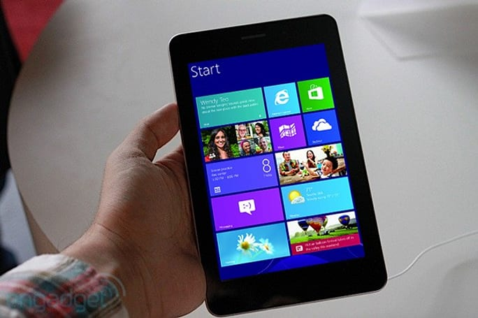 Microsoft allows Windows 8 to run on smaller displays: is a reader-sized Surface on its way?