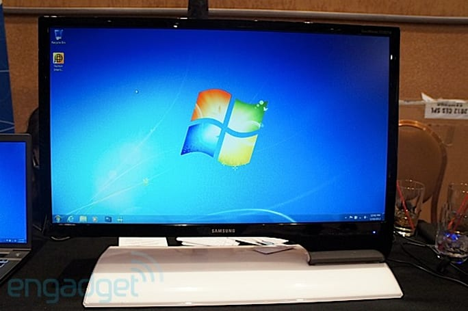 Samsung Series 7 HDTV monitor hands-on