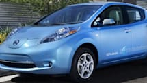 Don't tell us where you're going, Nissan Leaf driver, we already know (video)