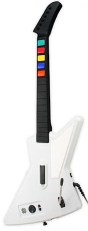 Use Xbox 360 Guitar Hero Controller with Frets on Fire