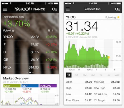 Yahoo Finance for iOS gets major overhaul