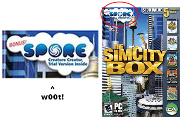 Rumor: Spore Creature Creator included in SimCity Box