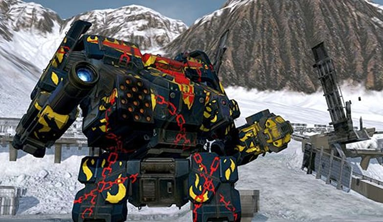 MechWarrior Online shows off its pretty new baby