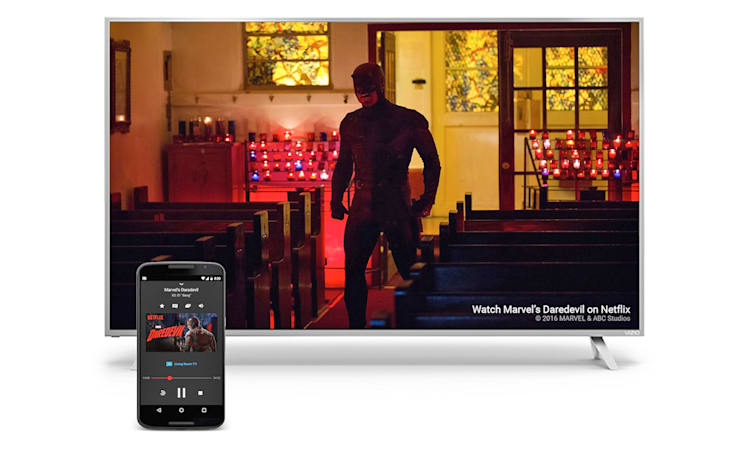 Chromecast app expansion prompts a name change to Google Cast