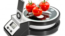 Rihanna kitchen scale features iPod dock, Heavy D's scale plays vinyl