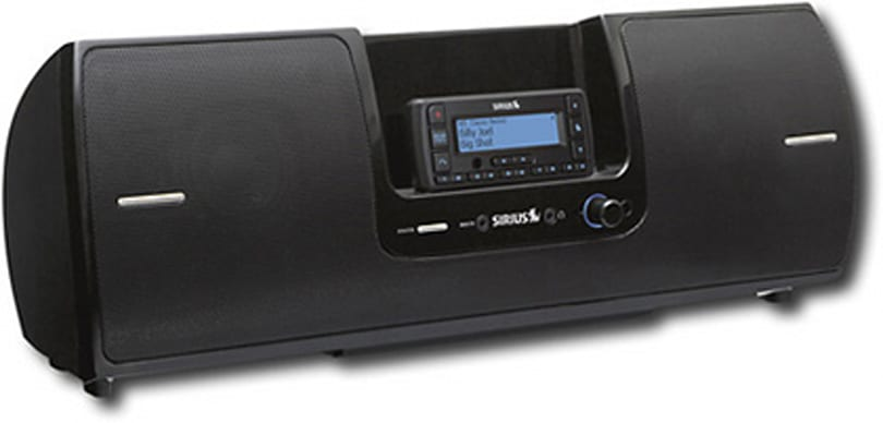 Sirius SUBX2 boombox spotted early, ready for Dock & Play radios