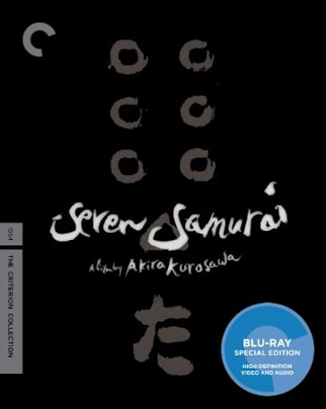 Criterion Collection's October Blu-ray release schedule includes Seven Samurai