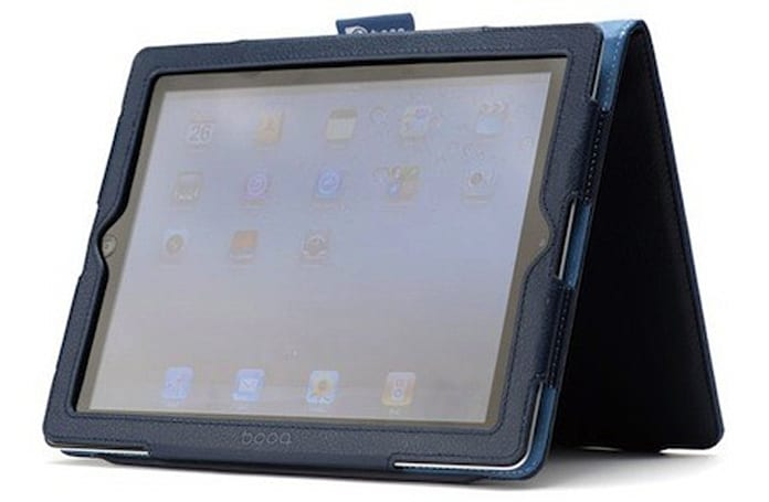 Booq Folio for iPad 2: Leather luxury, Smart Cover functionality