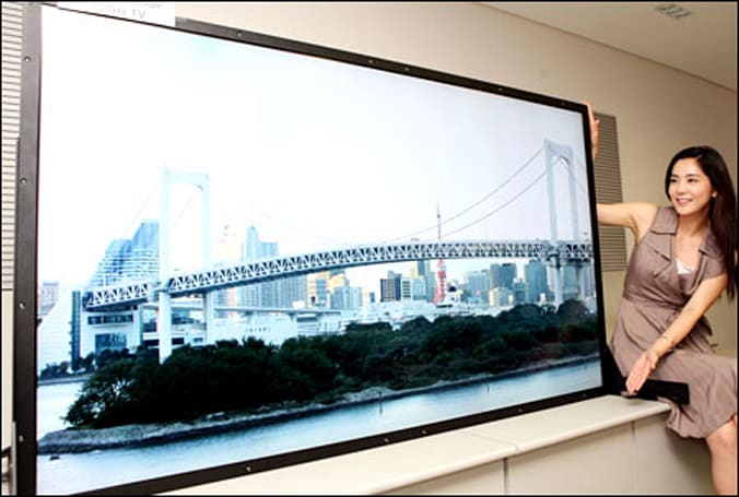 Samsung's 82-inch QuadHD LCD: Now with 120Hz
