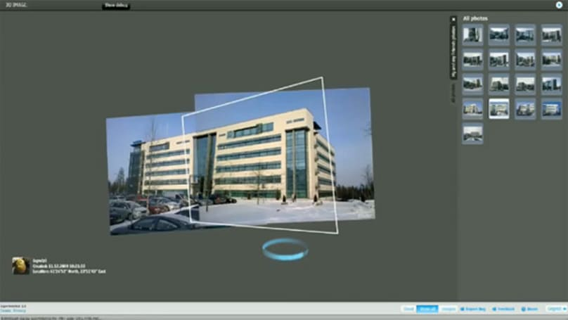 Nokia Image Space: like Google Maps Street View, but you're doing the work