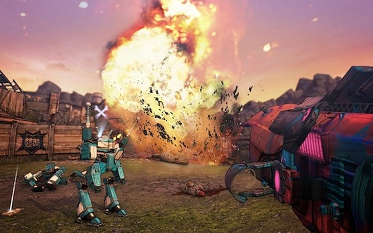 Shoot things in Borderlands 2 for a chance at winning loot, cash prizes