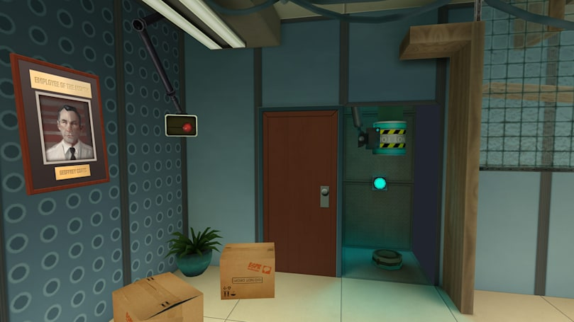 Comedian Nick Frost makes his Gear VR debut in 'Esper 2'