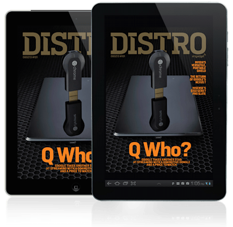 Distro Issue 101: Google takes another stab at streaming with Chromecast