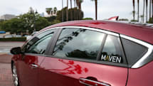 GM's car-sharing program links Uber drivers to weekly rentals