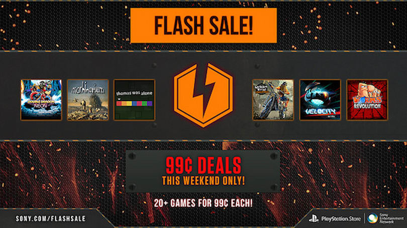 PlayStation Store Flash Sale offers up 99-cent deals