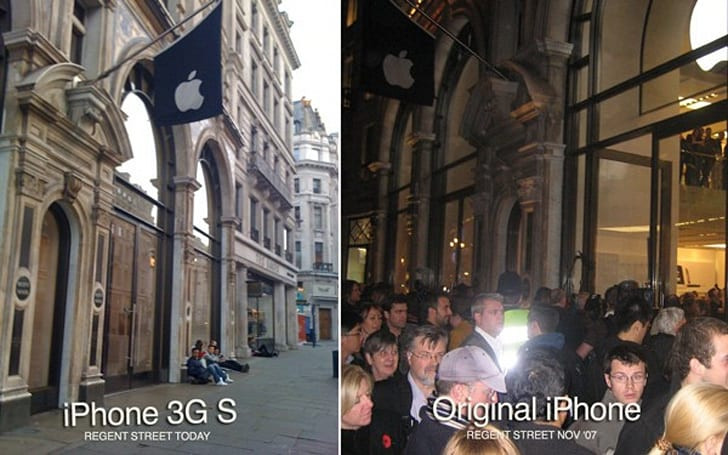 iPhone 3G S global launch sees smaller lines, quieter reception (update)