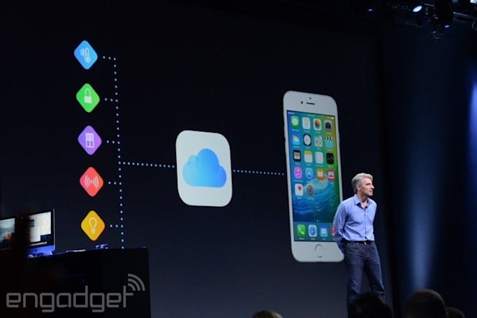 Apple's iOS 9 update will require much less free storage