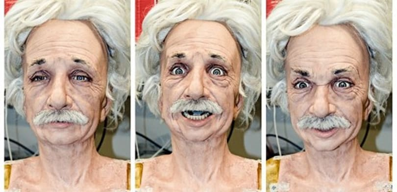 Einstein robot learns to smile, teaches us how to feel