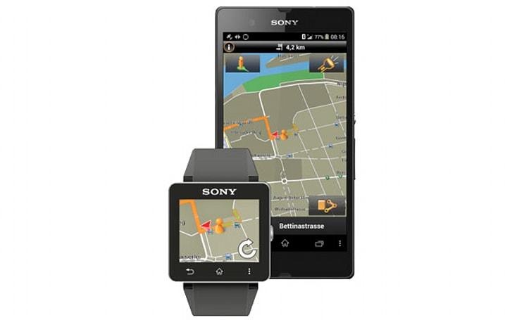 Garmin's new app turns Sony's SmartWatch 2 into a tiny satnav