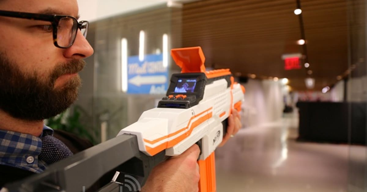 O Brien Hyundai >> Newest NERF blaster has baked in camera for capturing your ...