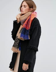River Island Color Block Supersoft Scarf