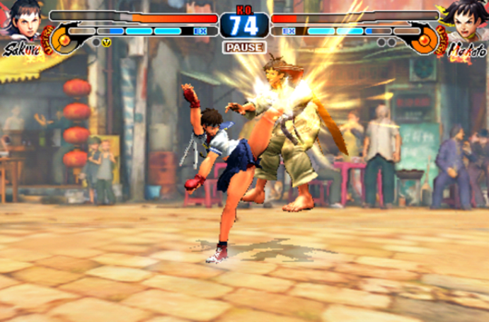 Street Fighter IV Volt update adds Sakura and Makoto