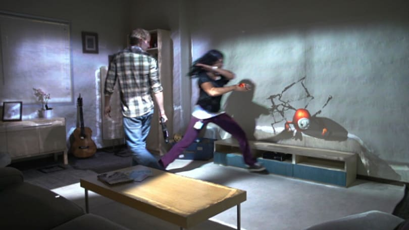 Microsoft's RoomAlive turns your living room into a holodeck