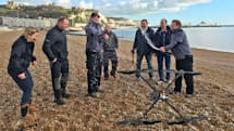 British firm makes first quadcopter flight over English Channel