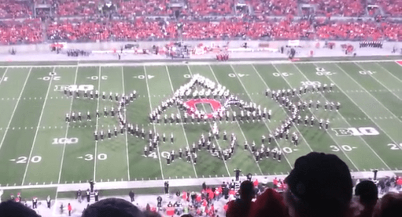 Ohio State University marching band salutes video games