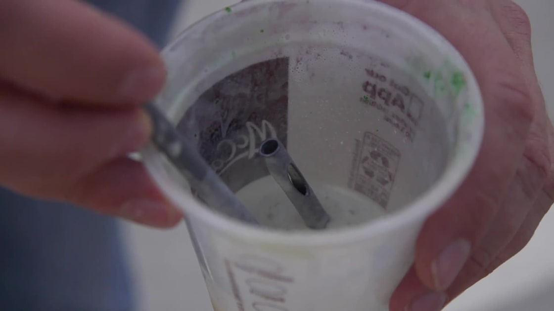 photo image We tried McDonald's super-engineered shake straw