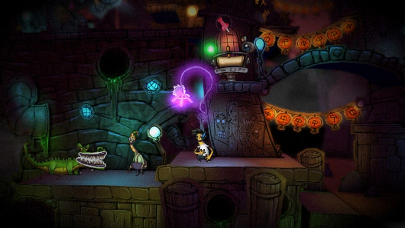 Stick it to the Man reaches its pink spaghetti arm to Steam this month